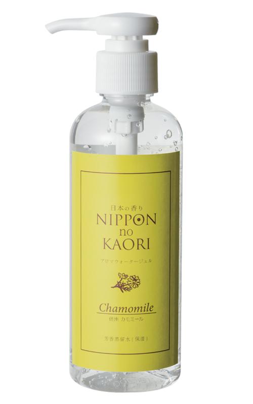 日本の香りシリーズ「アロマウォータージェル カモミール」商品画像